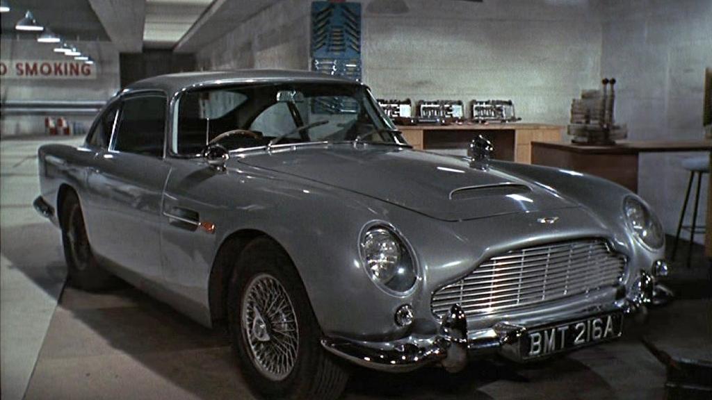 New Bond Cars Stolen