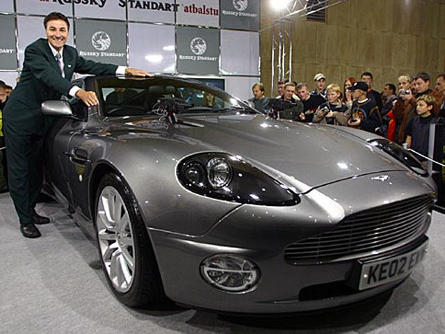 Aston Martin Vanquish in Riga